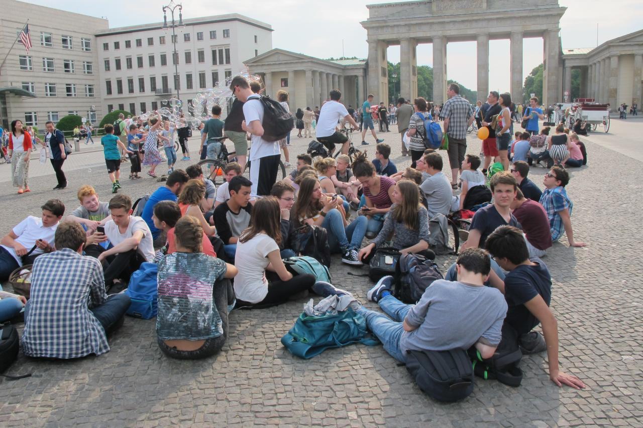 23.5.vor dem Brandenburger Tor